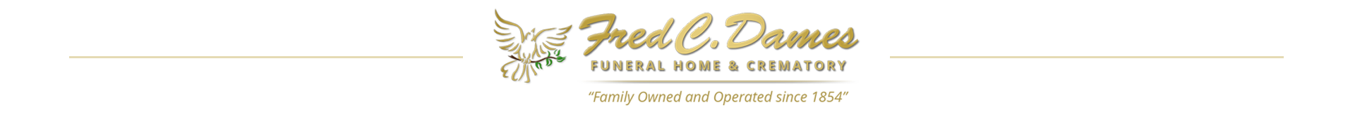 Current Services and Obituaries | Fred C  Dames Funeral Home and Cr